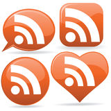 RSS Icons Stock Image