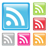Rss icons Royalty Free Stock Photography