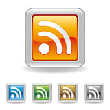 RSS ikona Zdjęcie Royalty Free