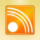 RSS Ikone Stockfotos