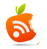 RSS jabłko Obrazy Stock