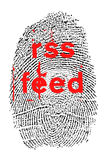 RSS karma Zdjęcie Stock