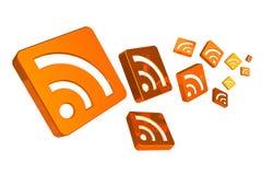 RSS Konzept Lizenzfreie Stockfotos