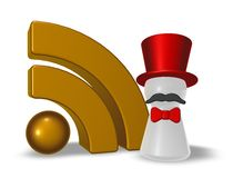 Rss ringmaster Royalty Free Stock Images