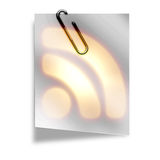 RSS symbol Royalty Free Stock Image