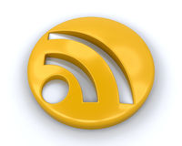 RSS Symbol Stock Images