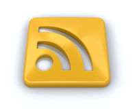 RSS symbol Royalty Free Stock Photography