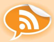 RSS Zeichen Lizenzfreies Stockbild