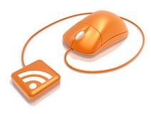 RSS Zufuhr Lizenzfreie Stockfotos