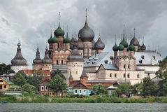 Rússia. Cidade de Rostov o grande. Rostov Kremlin Imagens de Stock Royalty Free