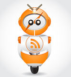 Rssrobot royalty-vrije illustratie