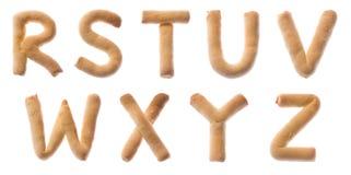 RSTUVWXYZ Fotografia Stock