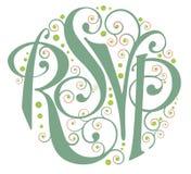 RSVP Imagens de Stock