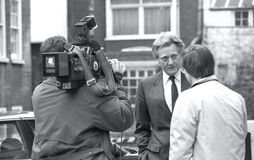 Rt.Hon. Michael Heseltine Stock Photos