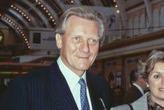 Rt.Hon. Michael Heseltine royalty-vrije stock foto's