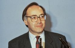Rt.Hon. Michael Howard imagenes de archivo