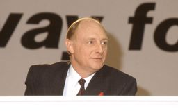 Rt.Hon. Neil Kinnock Stock Image