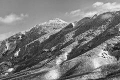 Rtanj berg i vintern 18 Arkivbilder