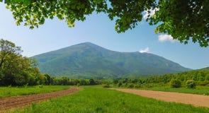 Rtanj Mountain View lizenzfreies stockbild