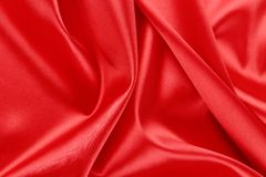 Rted silk. Red silk background with some soft folds and highlights royalty free stock photo