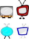 Rtero televisions Stock Photos