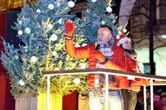 圣诞节RTL游行 免版税库存图片