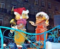 RTL-de Kerstmisparade vervuilt Royalty-vrije Stock Foto's