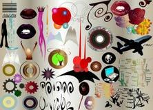 Rétro art Image libre de droits