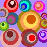 Rétro cercles Photo stock