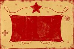 Rétro fond de papier Images libres de droits