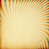 Rétro fond de rayon de soleil. Photo libre de droits