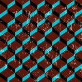 Rétro géométrique abstrait Photographie stock libre de droits