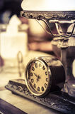 Rétro horloge Photo stock