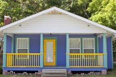 Rétro maison accessible Image libre de droits