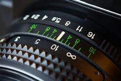 Rétro objectif de caméra de photo Image libre de droits