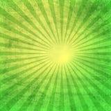 Rétro papier avec le rayon de soleil Photos libres de droits
