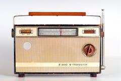 Rétro radio de cru Photographie stock