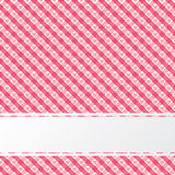 Rétro texture rouge abstraite avec la rayure Photo libre de droits