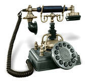 Rétro téléphone Image libre de droits