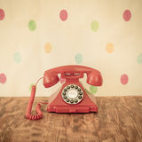 Rétro téléphone Photographie stock