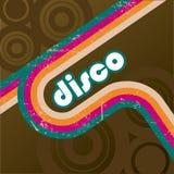 Rétro type de disco Photos stock