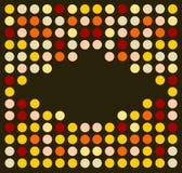 Rétro type génial de disco Images stock