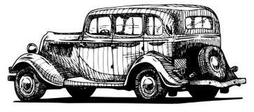Rétro voiture Photo stock