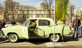Rétro voiture Volga GAZ 24 Images libres de droits