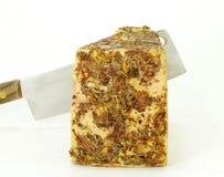 Rått mjölka ost Arkivbild