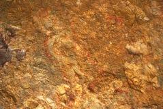 Rött vagga texturerar Arkivfoto
