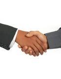 Rütteln der Hände Lizenzfreies Stockfoto