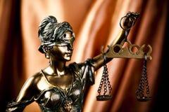 rättvisascales Royaltyfri Fotografi