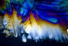 Rußpartikel und microcrystals Stockfotos