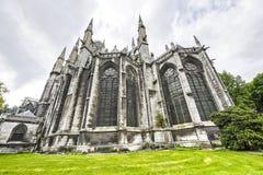 Ruán - exterior de la iglesia del Santo-Ouen Foto de archivo